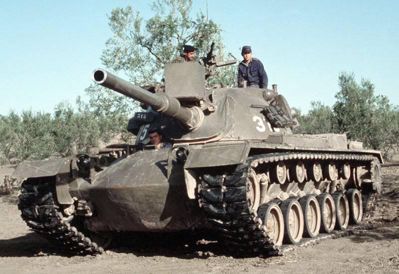 Американский средний танк M48