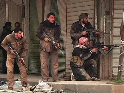 Сирийская армия штурмует город Бинниш.