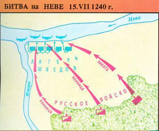 15 июля 1240 года - Состоялась Невская битва, надолго отбившая у шведов желание покорить Северо-Западную Русь.