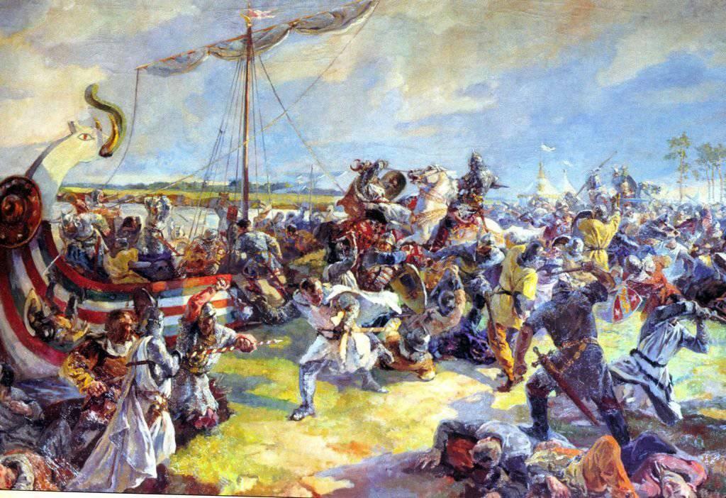 Битва на Неве Военное обозрение 15 июля 1240 года состоялась Невская битва которая имела огромное стратегическое значение Поражение надолго отбило у шведов желание захватить