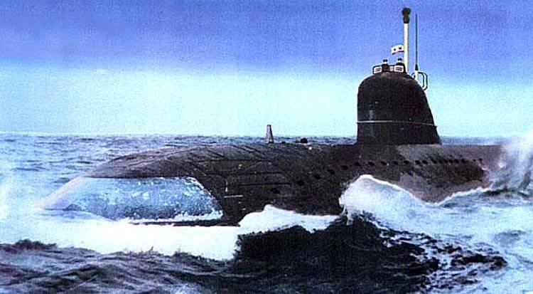 техн данные подводной комсомол ХАРАКТЕРИСТИКА