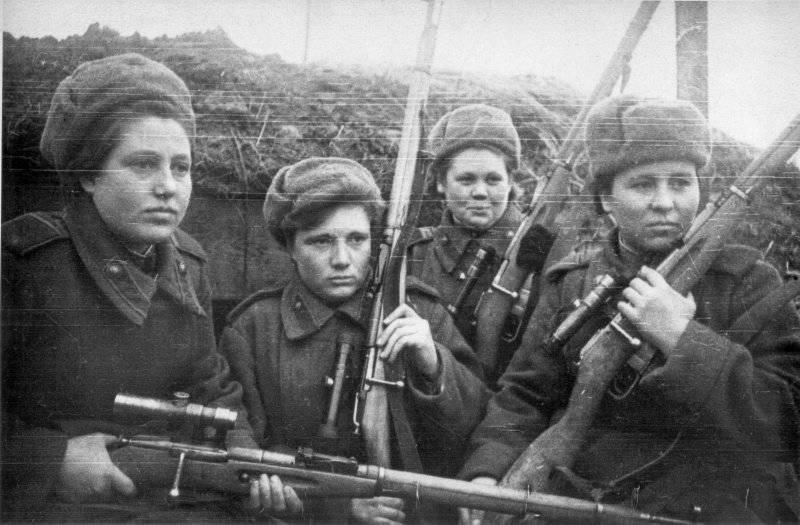 История. Советский снайперский террор против Вермахта 18 июля 2012