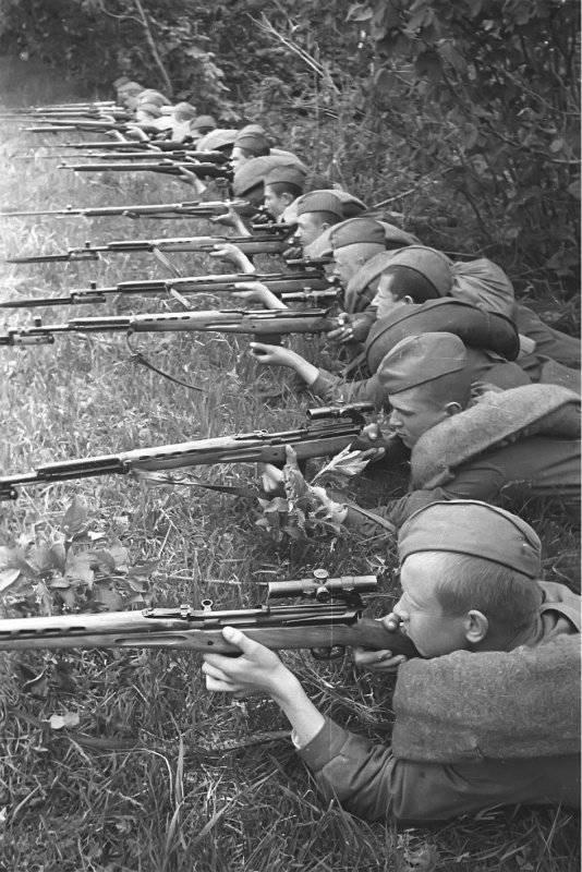 Советский снайперский террор против Вермахта