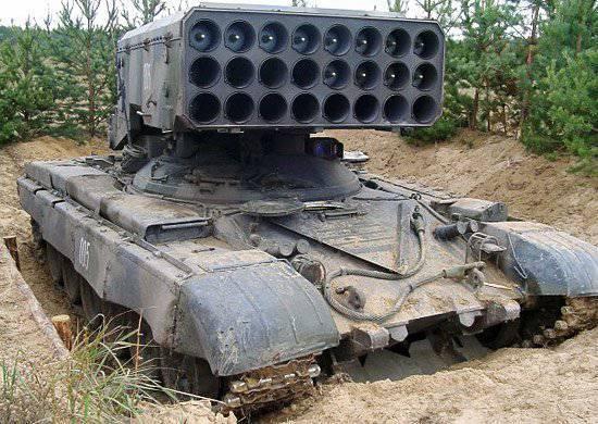 """I lanciafiamme del distretto militare meridionale utilizzano la nuova munizione """"Sunpinek"""""""