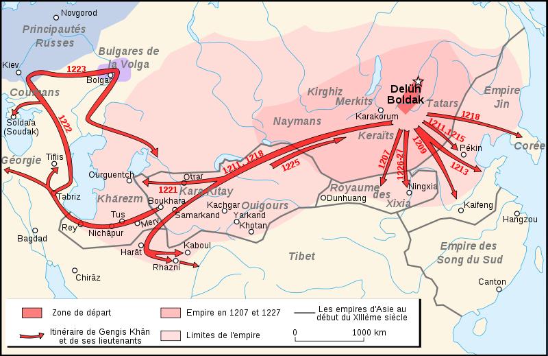 Moğol-Tatarlar Rus nasıl fethedildi