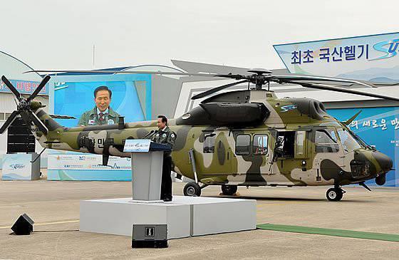 의회의 야당은 DAPA가 Surion 헬리콥터를 연속 생산할 계획이라고 비난했다.