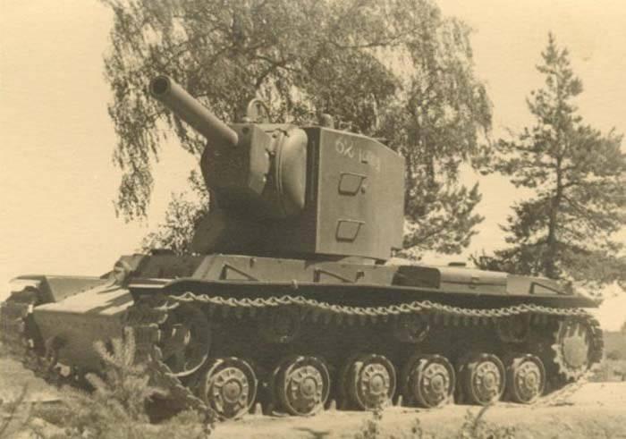 Для немцев встреча с КВ-2 стала настоящим шоком