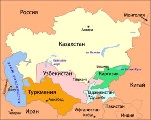 Искусственные государства Средней Азии - угроза национальной безопасности России
