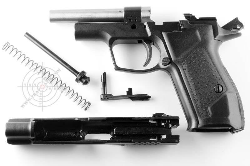 Пистолет-травматик Форт 12РМ .45 Rubber (Украина) .
