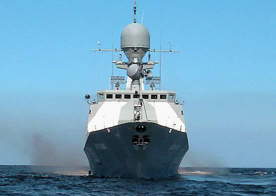 """Pequeño barco de artillería """"Volgodonsk"""" adoptado en la Flotilla del Caspio"""