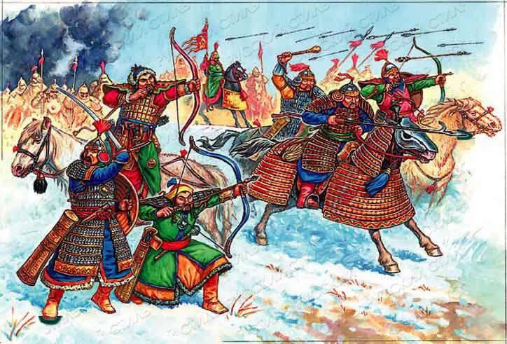 Mongolo-Tatars的俄罗斯盟友