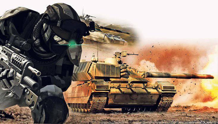 De los vehículos de combate de los soldados a los robots.