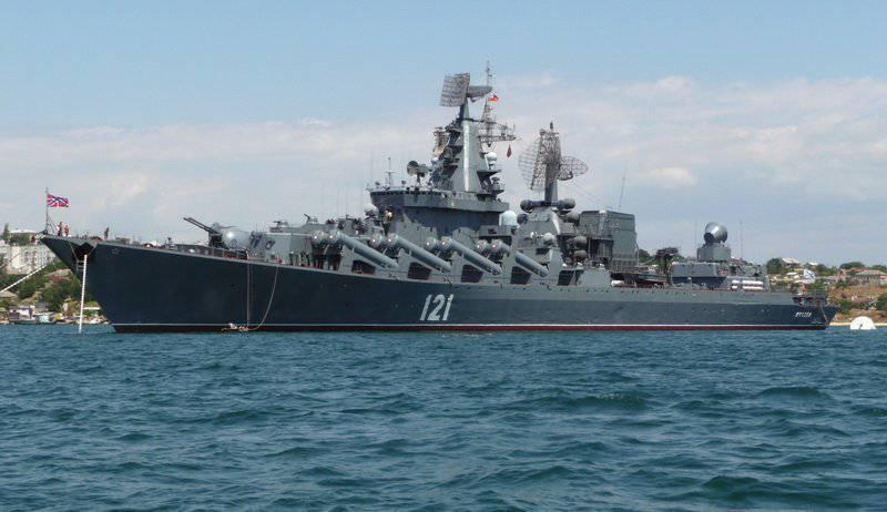 """गार्ड्स मिसाइल क्रूजर """"मास्को"""" - काला सागर बेड़े का प्रमुख"""