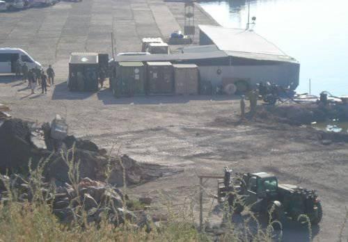 オチャコフ港で何が起こりますか?