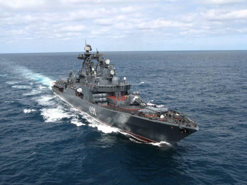 Эксперт: Российский флот в 10 раз слабее американского