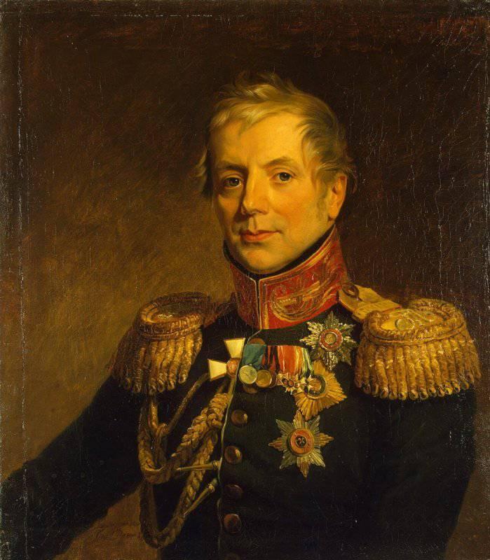 Петр Петрович Коновницын. Один из лучших генералов Отечественной войны 1812 года
