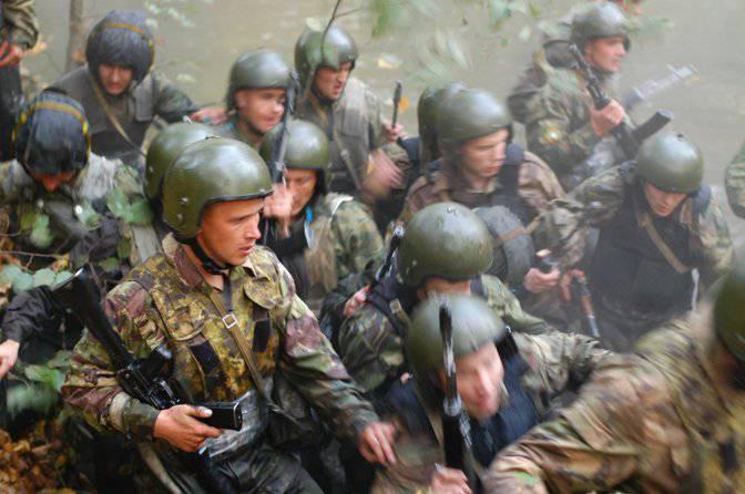 """अठारह साल की वीरता और साहस: एमवीडी की विशेष टुकड़ी """"रूस"""""""