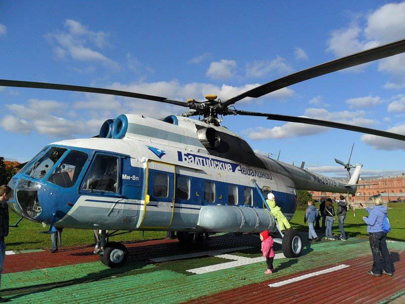 传奇直升机Mi-8庆祝其50周年庆典