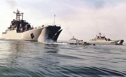 Les navires de débarquement de la marine russe iront à Tartus syrien