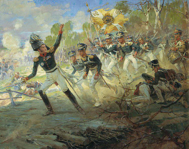 Napoleon himself noted the military art and the unbending will of Nikolai Nikolayevich Raevsky