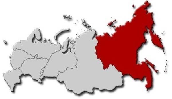 俄罗斯的肢解将在远东开始