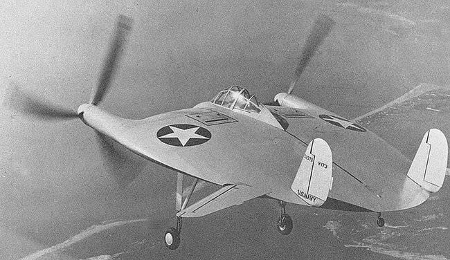 Alliierte geheime Flugzeuge der Kriegszeit (Teil 1) - Vought V-173