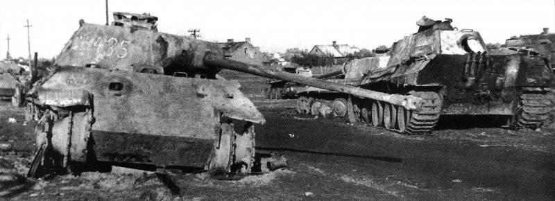 Бронетанковая техника Германии во Второй мировой войне. Средний танк Pz Kpfw V «Panther» (Sd Kfz 171)