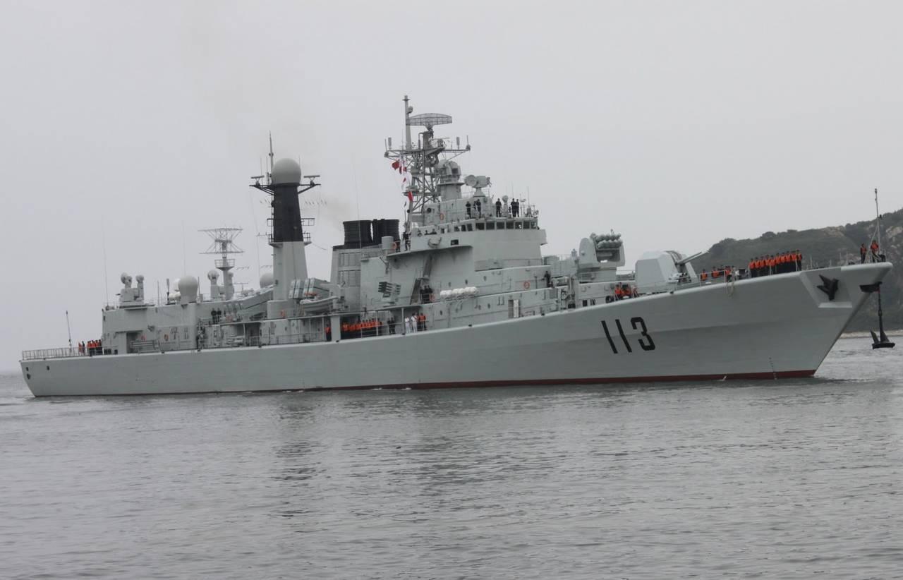 Корабли китайских вмс в черном море