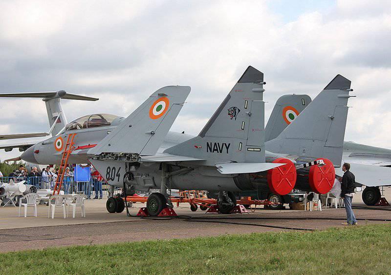 МиГ-29К – будущее российской и индийской палубной авиации