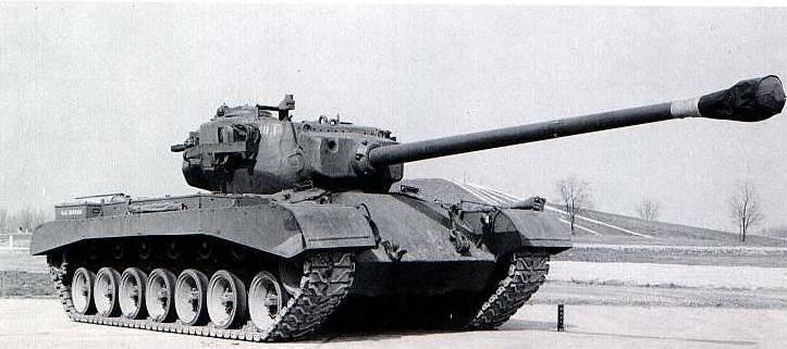 Американский тяжелый танк T32