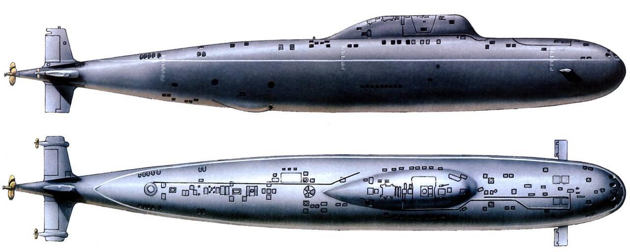 атомная подводная лодка с жмт