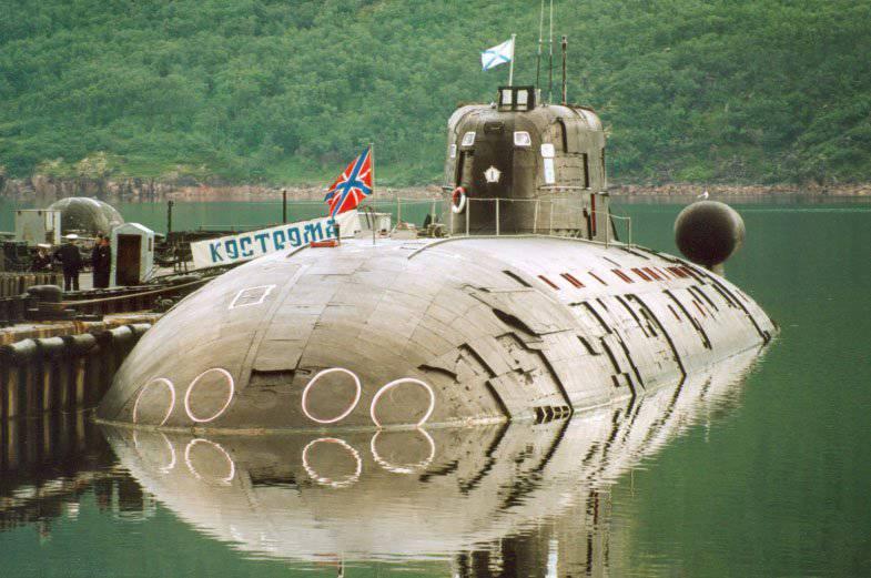 Атомные торпедные и многоцелевые подводные лодки. Проекты 945