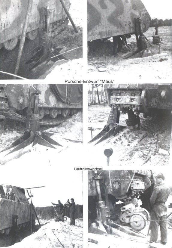 Бронетанковая техника Германии во Второй мировой войне. Сверхтяжелый танк Pz Kpfw «Maus»