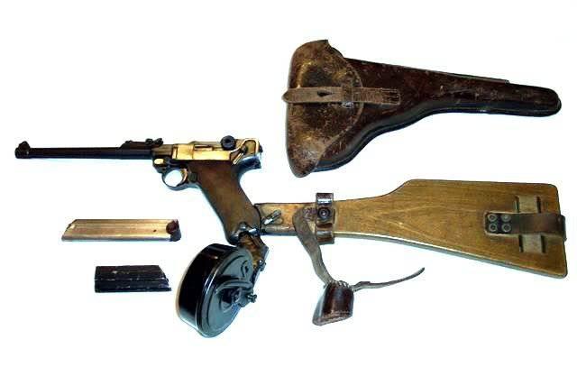 Автоматика пистолета основана