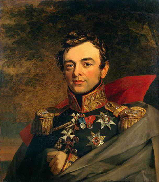 Tüm Rus Siparişlerinin Süvari İvan F. Paskevich