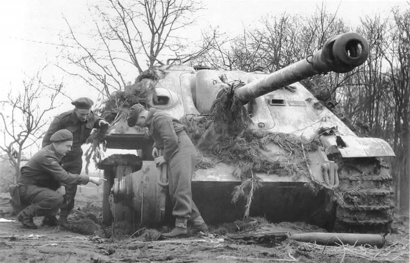 Бронетанковая техника Германии во Второй мировой войне. «Ягдпантера» – истребитель танков