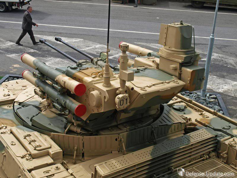 Rogozin will personally participate in the promotion of the Terminator tank support combat vehicle