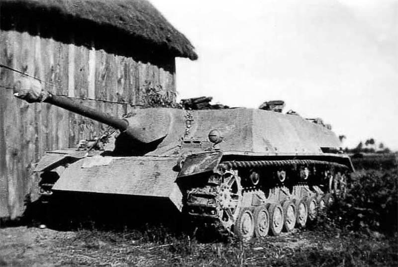 Gepanzerte Fahrzeuge Deutschlands im Zweiten Weltkrieg. Jagdpanzer IV Panzerjäger (Sd.Kfz.162)