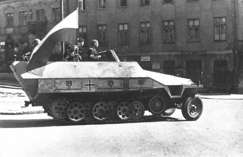 红军可以帮助叛乱的华沙吗?
