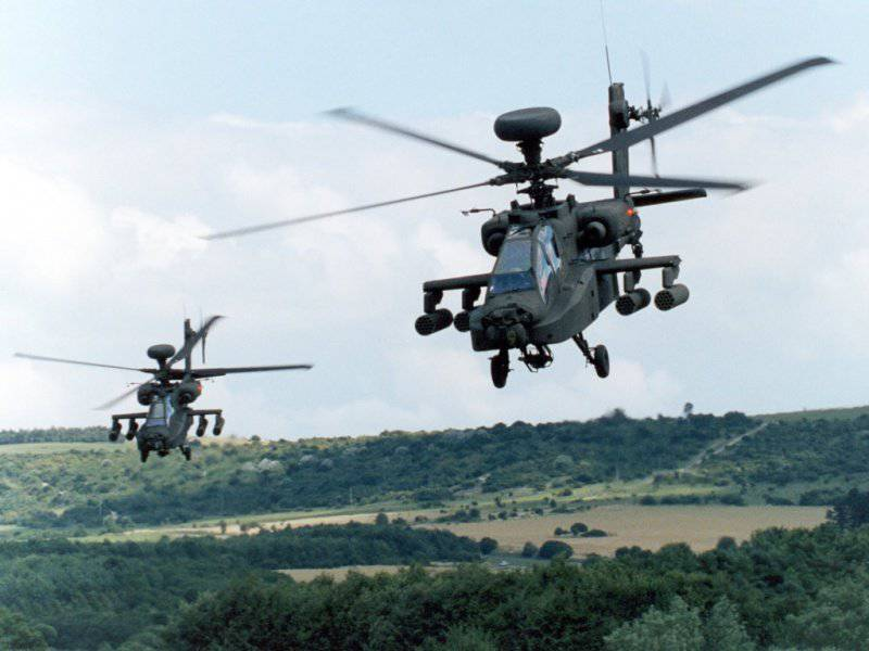 Apache Longbow pour Indian Air Force