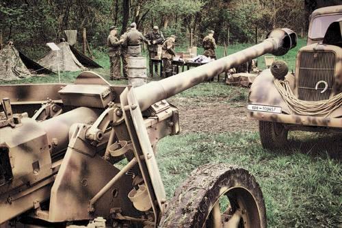 À travers le chas d'une aiguille: canons à troncs coniques