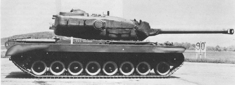 """Американские тяжелые танки – ответ на """"Королевский тигр"""""""