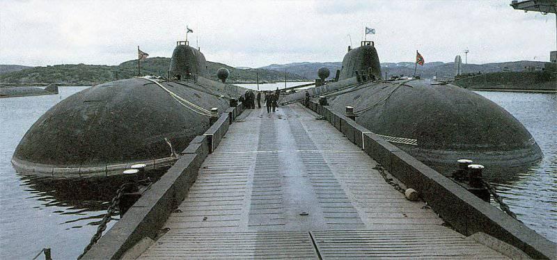 подводные стоянки подводных лодок