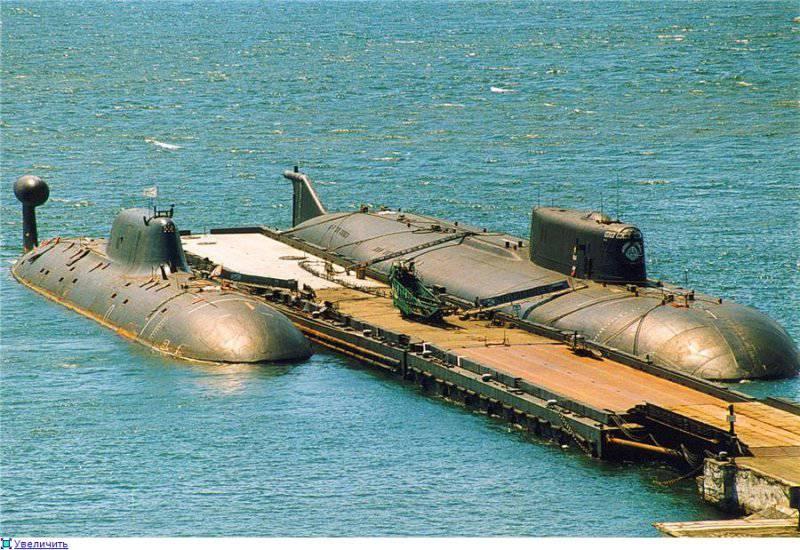 есть ли еще атомные подводные лодки в россии