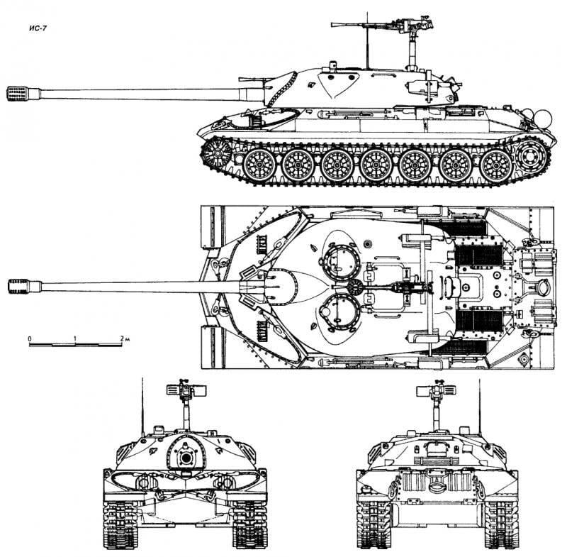 Тяжелый и грациозный ИС-7