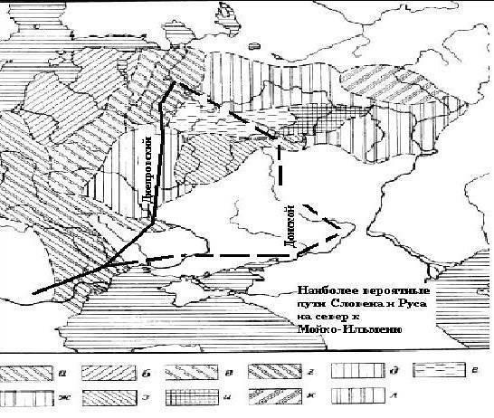 Discendenti di Scizia, Sloveno, Rus e Vandalo