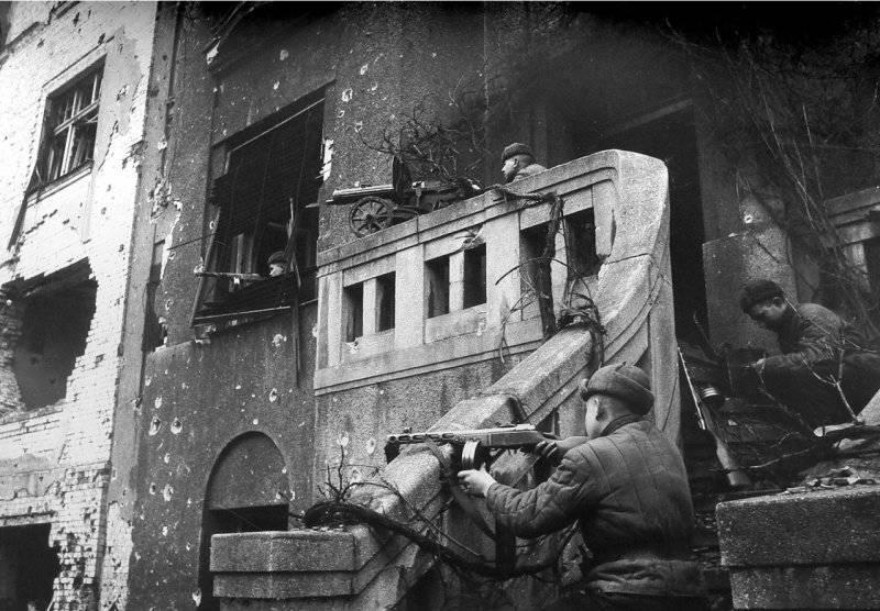 """Breslau como el """"Brest alemán"""" 1945 del año"""