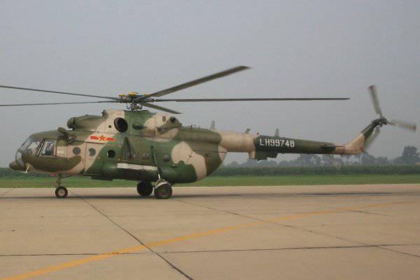中国缺少Mi-17直升机