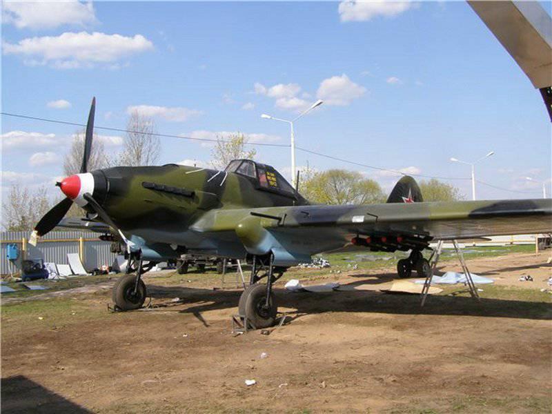 Aviación del Ejército Rojo de la Gran Guerra Patriótica (parte de 7) - aviones de ataque Ilyushin
