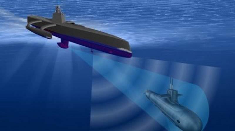 अमेरिकी डिजाइनरों ने डीजल-इलेक्ट्रिक पनडुब्बियों के लिए एक पानी के नीचे मानव रहित शिकारी विकसित करना शुरू कर दिया है